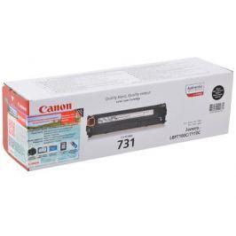 Картридж Canon 731Bk для принтеров LBP7100Cn/7110Cw. Чёрный. 1400 страниц.