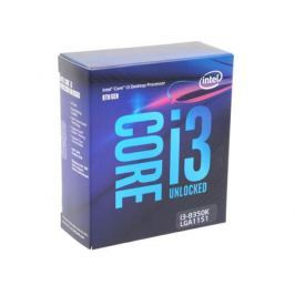 Процессор Intel Core i3-8350K BOX w/o Fan (TPD 91W, 4/4, Base 4.0GHz, 8Mb, LGA1151 (Coffee Lake))