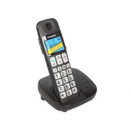 Телефон DECT Panasonic KX-TGE110RUB АОН, Caller ID 20, Эко-режим, Память 50, Black-List