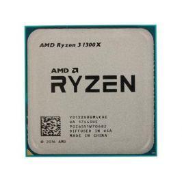 Процессор AMD Ryzen 3 1300X OEM (65W, 4C/4T, 3.7Gh(Max), 10MB(L2-2MB+L3-8MB), AM4) (YD130XBBM4KAE)