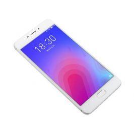 Смартфон Meizu M6 Silver, M711H, 5.2'' 1280x720, 1.0GHz+1.5GHz, 8 Core, 2/32GB, up to 128GB, 13Mp/8Mp, 2 Sim, 2G, 3G, LTE, BT, Wi-Fi, GPS, Glonass, 30