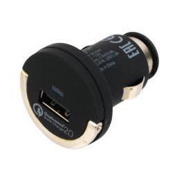Автомобильное зарядное устройство Deppa USB Quick Charge 2.0, черный, Ultra, 11279