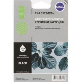 Картридж Cactus LC-1280XBK для Brother MFC-J6510/6910DW черный