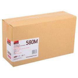 Тонер-картридж EasyPrint LK-580M для Kyocera FS-C5150DN/ECOSYS P6021. Пурпурный. 2800 страниц. с чипом