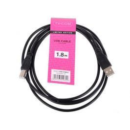 Кабель USB2.0 A-B, TV-COM (1,8м) (USB100G-1.8M)