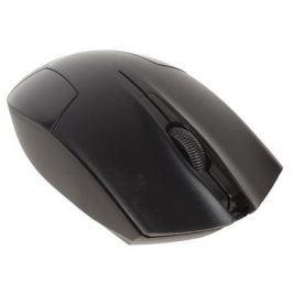 Мышь беспроводная Gembird MUSW-300, черный, 2кнопки+колесо-кнопка, 2.4ГГц, 1000 dpi