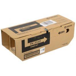 Тонер Kyocera TK-3160 для P3045dn, P3050dn, P3055dn, P3060dn, Чёрный. 12 500 страниц.