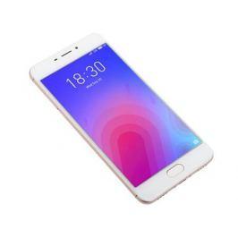 Смартфон Meizu M6 Gold, M711H, 5.2'' 1280x720, 1.0GHz+1.5GHz, 8 Core, 2/16GB, up to 128GB, 13Mp/8Mp, 2 Sim, 2G, 3G, LTE, BT, Wi-Fi, GPS, Glonass, 3070