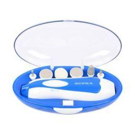 Маникюрно-педикюрный набор SUPRA MPS-111 6 шт синий/белый