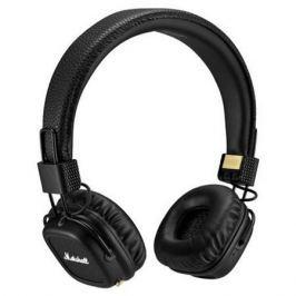 Наушники (гарнитура) Marshall Major II Bluetooth 04091378 Black Беспроводные, проводные / Накладные с микрофоном / Черный / 10 Гц - 20 кГц / 99 дБ / Одностороннее / до