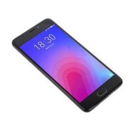 Смартфон Meizu M6 Black, M711H, 5.2'' 1280x720, 1.0GHz+1.5GHz, 8 Core, 2/32GB, up to 128GB, 13Mp/8Mp, 2 Sim, 2G, 3G, LTE, BT, Wi-Fi, GPS, Glonass, 307