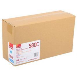 Тонер-картридж EasyPrint LK-580C для Kyocera FS-C5150DN/ECOSYS P6021. Голубой. 2800 страниц. с чипом
