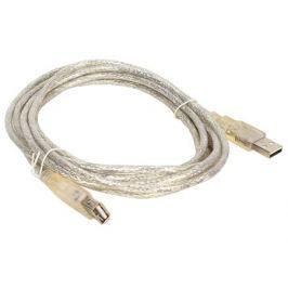 Кабель удлинительный VCOM USB2.0 AM/AF 5.0m прозрачная изоляция (VUS6936-5MTP)