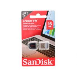 USB флешка SanDisk Cruzer Fit 16GB (SDCZ33-016G-B35)