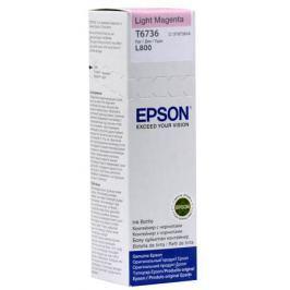 Картридж Epson Original T67364A светло-пурпурный для L800