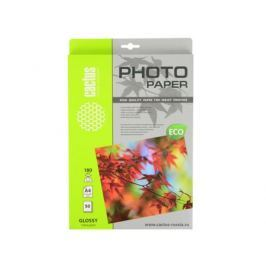 Бумага Cactus CS-GA418050E A4 180г/кв.м глянцевая 50л