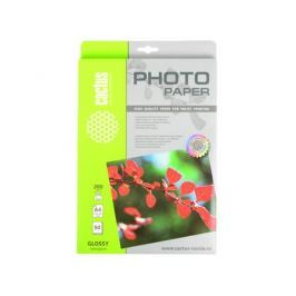 Фотобумага Cactus CS-GA420050 глянцевая А4 200 г/м2 50 листов