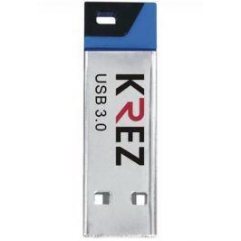 Флешка USB 16Gb Krez mini 602 черно-синий KREZ602U3BL16