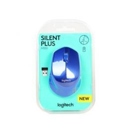 Мышь (910-004910) Logitech Wireless Mouse M330 SILENT PLUS Blue