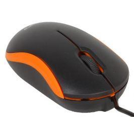 Мышь CBR CM 112 Orange оптика, оптика, 1200dpi, офисн., провод 1.1 метра, USB