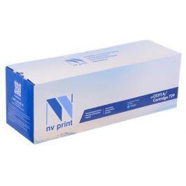 Картридж NV-Print совместимый с Canon 729C для i-SENSYS LBP-7010 Color. Голубой. 1000 страниц.