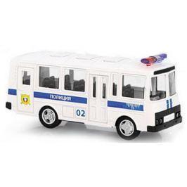 Инерционная металлическая машинка Play Smart 1:61 автобус(полиция) 15,5x6x7,65см