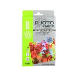 Фотобумага Cactus CS-GA6180100 10x15cm/180г/м2/100л. глянцевая для струйной печати