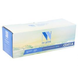 Картридж NV-Print CE411A голубой (cyan) 2800 стр. для HP LaserJet Color M351/375/451/475 / CP2025 / MFP-CM2320