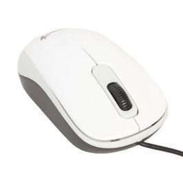 Мышь Genius DX-110 White, оптическая, 1200 dpi, 3 кнопки, USB