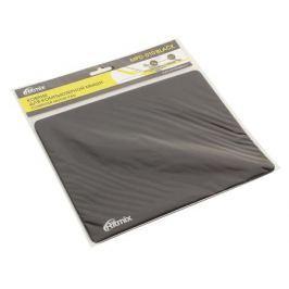 Коврик для мыши Ritmix MPD-010 Black, 220 x 180 x 3mm, Ткань+Этиленвинилацетат