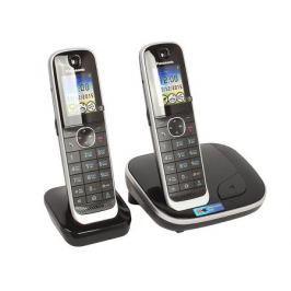 Телефон DECT Panasonic KX-TGJ312RUB АОН, Color TFT, Caller ID 50, Эко-режим, Память 250, Black-List, дополнительная трубка