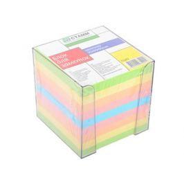 Блок бумажный СТАММ 90х90 мм многоцветный