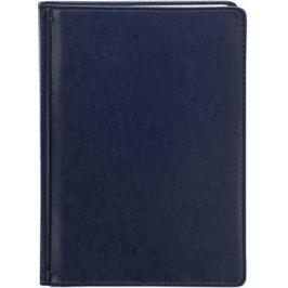 Ежедневник недатированный Index AVANTI ф.А5, кожзам, лин.,перф.угла,ляссе,336с., синий IDN117/A5/BU