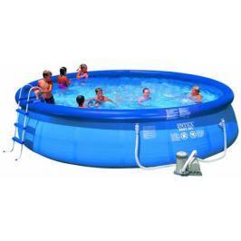 Надувной бассейн Intex изи сет 549х107см наб.(видео,насос-фильтр,лест.,настил,тент,наб. д/чистки) 22
