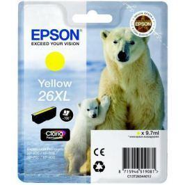 Картридж Epson C13T26344012 для Epson XP-600/700/800 желтый