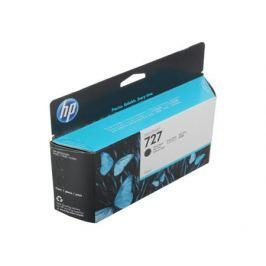 Картридж HP B3P22A №727 для Designjet T920/T1500. Черный матовый. 130-ml