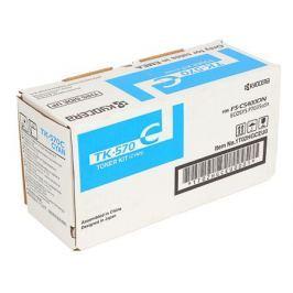 Тонер Kyocera TK-570C синий (cyan) 12000 стр для Kyocera FS-C5400DN