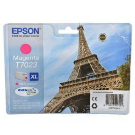 Картридж Epson C13T70234010XL для Epson WP 4000/4500 Series пурпурный 2000стр