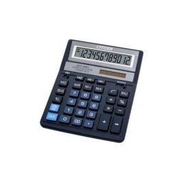 Калькулятор Citizen SDC-888XBL двойное питание 12 разряда бухгалтерский синий