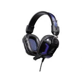 Наушники (гарнитура) Hama uRage SoundZ Essential H-113744 Проводные / Полноразмерные с микрофоном / Черный-фиолетовый / 20 Гц - 20 кГц / 111 дБ / Одностороннее / Mini-