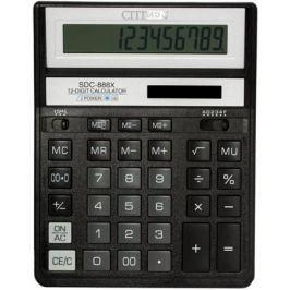 Калькулятор настольный Citizen SDC-888XBK 12-разрядный