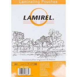 Плёнка для ламинирования Lamirel A3 (LA-78655) 303х426 мм, 75 мкм, глянцевая,100 шт.