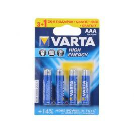 Батарейки VARTA HIGH ENERGY AAA бл. 3+1 04903121484