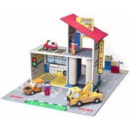 Игровой набор Krooom Детский гараж Уилсон Бразерс 43 см разноцветный К-303