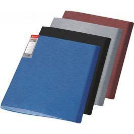 Папка с файлами SIMPLE, ф.А4, 10 файлов, бордовый, материал PP, плотность 450 мкр