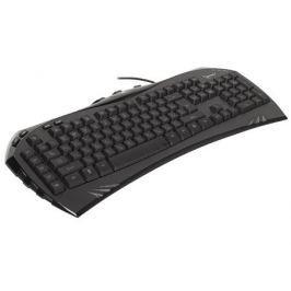 Клавиатура игровая Gembird KB-G100L, USB, синяя подсветка символов, создание макросов