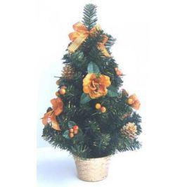 Елка декоративная украшенная, в горшочке, 50 см, 2 вида