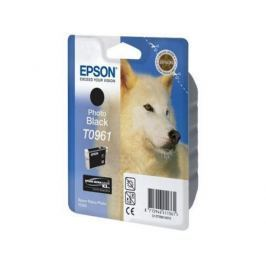 Картридж Epson C13T09614010 T0961 для Epson Stylus Photo R2880 Photo Black черный