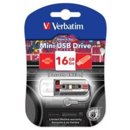 Флешка USB 16Gb Verbatim Mini Cassette Edition 49397 USB черный
