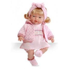 Кукла Arias 26 см, функционал - плач, блондинка, в розовой одежде, кор.